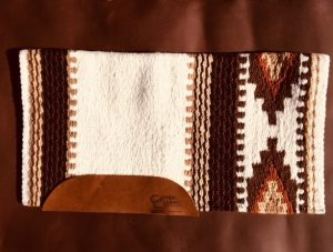 The Cowtown Medium Saddle Pad and Blanket Option 1