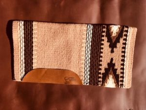 The Cowtown Medium Saddle Pad and Blanket Option 2