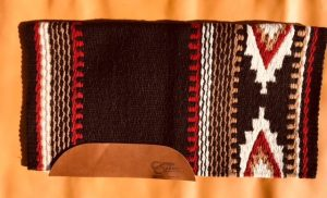 The Cowtown Medium Saddle Pad and Blanket Option 3