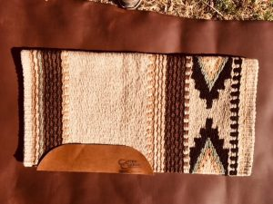 The Cowtown Medium Saddle Pad and Blanket Option 4