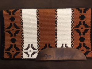 The Hunters Bend Saddle Pad and Blanket Option 2