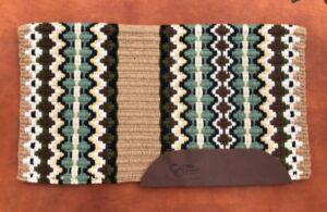 Branding Iron Saddle Blanket- Option 2