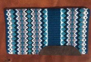 Branding Iron Saddle Blanket- Option 6